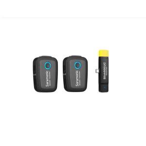 枫笛(Saramonic)Blink500 B6安卓手机无线一拖二2.4G无线麦克风