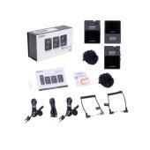 科唛(COMICA)BoomX-D D2 无线1拖2领夹话筒手机麦克风单反微单相机麦克风