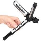 神牛(Godox)MT01迷你三脚架摄影闪光灯LED摄像灯单反微单便携式三脚支架