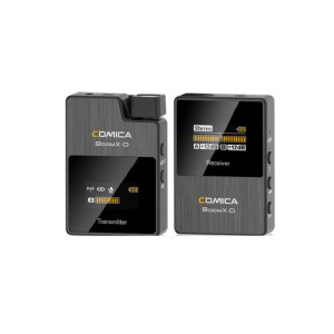 科唛(COMICA)BoomX-D D1 无线领夹麦克风手机微单单反相机麦克风