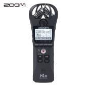 日本ZOOM H1n 黑色 数码录音笔 录音器 麦克风