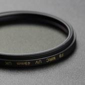 沣标 高清光学UV滤镜 49mm