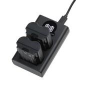 沣标 捕捉者双槽充电器 S-DC-NP-W235(BL) dbl