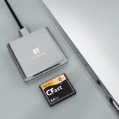沣标-CFast2.0-3.0 金属 读卡器