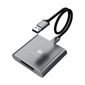 沣标(FB)相机XQD存储卡G/M系列内存卡USB3.1 Gen1高速读卡器 FB-XQDA-30-Aa