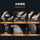 永诺 YnBox系列 快装版深口抛物线柔光箱 保荣口通用版 70CM/90CM/120CM